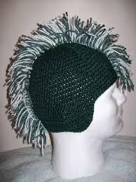 crochet hair mohawk pattern 9 crochet wigs for halloween dress up costumes