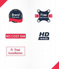 buy weston wel 2100 51 cm 21 led tv online at best price in