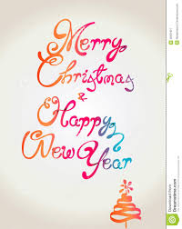 merry and happy new year wallpaper desig royalty free