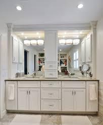 Bathroom Vanity Storage Tower Crafty Inspiration Ideas Bathroom Vanity With Tower Linen Vanities