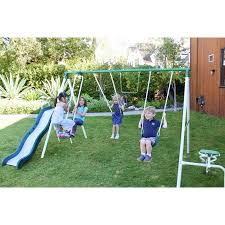 Swing Sets For Small Backyard by Small To Big Backyard Swing Set Choices Sahm Plus