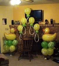 Decorating Chair For Baby Shower Tallahassee Baby Shower Balloon Decorations And Ideas
