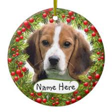great gifts for beagle ornaments