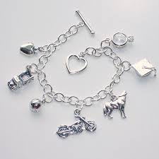 i want this the twilight charm bracelet features seven carefully