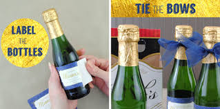 bows for wine bottles morning after mimosa kits a how to guide including step by step