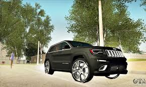 monster jeep cherokee jeep grand cherokee srt8 for gta san andreas