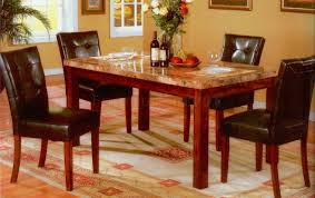 Marble Top Dining Room Tables Dining Table Faux Marble Top Dining Table Perfect Dining Room