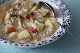 cuisiner flocon d avoine petit déjeuner aux flocons d avoine et aux fruits la cuisine de dali