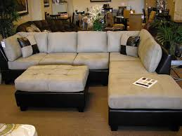 Leather Sofa With Chaise Lounge by Living Room Charming Gray Sectional Sofa With Chaise Lounge For