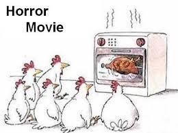 Chicken Meme Jokes - chicken horror movie