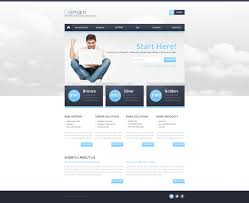 reporting website templates hosting responsive website template 49279