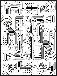 pattern coloring pages for adults get this online art deco patterns coloring pages for adults 467867