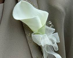 Wrist Corsage Supplies Calla Lily Wrist Corsage Wedding Corsage Mother Of The Bride