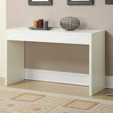 Wall Console Table Convenience Concepts 111091w Northfield White Wall Console Table