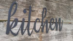 signs decor metal kitchen signs farmhouse wall decor metal words rustic