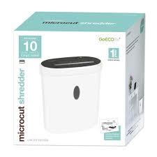 Best Buy Shredders Limited Edition 10 Sheet Microcut Paper Shredder White Gmw101b
