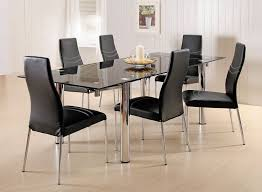 Luxury Glass Dining Table Set  Chairs Extending Round And - Glass kitchen tables