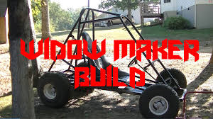 homemade truck go kart widow maker off road go kart build youtube