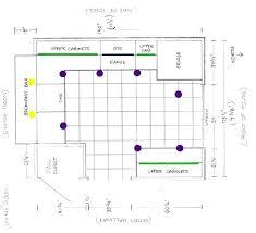 kitchen layout guide recessed kitchen lighting layout stgrupp com