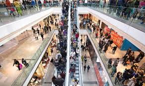 westfield shopping centre in stratford london evacuated uk