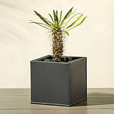small planter modern planters and garden pots cb2