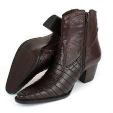 Favorito Bota Country Cano Baixo Couro Casco de Tatu Rodeio Boots - Guis  &CL17