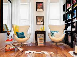 Home Design For Small Spaces by Floor Planning A Small Living Room Hgtv