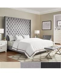 Headboard For Platform Bed Don T Miss This Deal Naples Wingback Button Tufted 84 Inch High