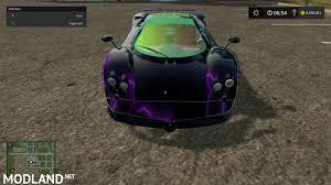 pagani zonda 2017 pagani zonda purpleskin mod farming simulator 17