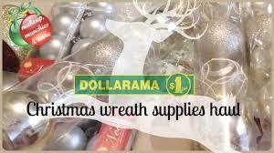 Dollarama Home Decor Dollarama Haul November 2016 Making A Christmas Wreath Youtube