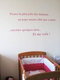sticker pour chambre sticker phrase pour chambre de bébé à découvrir
