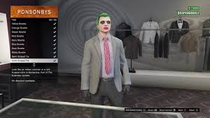 how to be the joker in gta online without halloween face paints