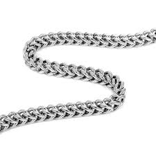 mens necklace chains silver images Urban jewelry stunning thick 8 mm stainless steel men 39 s necklace jpg