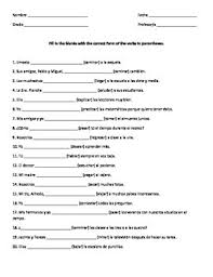 amusing regular verbs worksheets printable spanish remarkable
