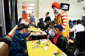 photos denver mcdonald s hosts free thanksgiving meal for seniors