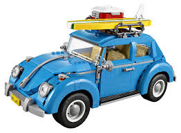 volkswagen bug light blue amazon com lego creator expert volkswagen beetle 10252