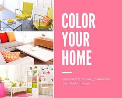 interior design photo collage templates canva