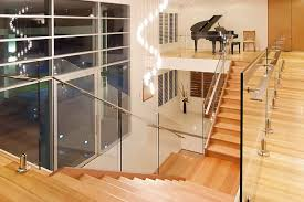 Glass Banisters For Stairs Glass Balustrade Frameless Glass Balustrades Brisbane