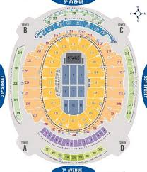 madison square garden seating chart seat views for concerts rangers