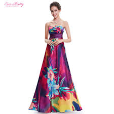 colorful dress evening dress formal pretty a line ep09603 hot selling