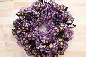 diy boo halloween mesh wreath the wreath depot