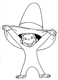 curious george coloring pages coloring pages for kids