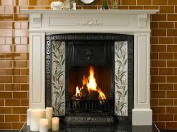 victorian fireplace british ceramic tile
