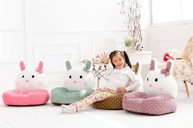 Portable Armchair Cosy Baby Seat Armchair Cartoon Rabbit Cute Play Game Seat Chair