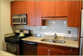 glass subway tiles kitchen backsplash home design ideas