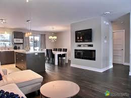 deco salon ouvert sur cuisine cuisine ouverte avec bar sur cuisine et salon ouvert idées