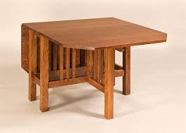 Amish Mission Style Gateleg Dining Table Leg Tables Amish - Gateleg kitchen table