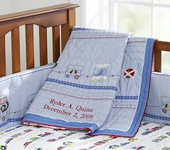 Baby Coverlet Sets Ryder Baby Quilt Pottery Barn Kids