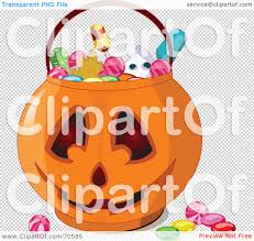 halloween transparent background royalty free rf clipart illustration of halloween candy in a