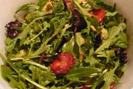 Garden Salad Ideas Spinach And Mix Strawberry Avocado Salad With Honey